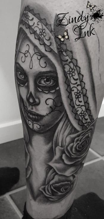 Day of the dead Dia de los muertos Tattoo