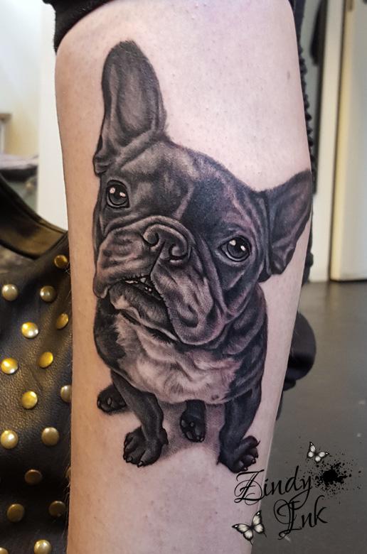 french bulldog tattoo zindy ink tattoo artist illustrator rh zindyink com french bulldog tattoo finger french bulldog tattoo finger