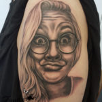 Funny Face Portrait by Zindyink