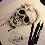 Skull Pink Sweet Decay