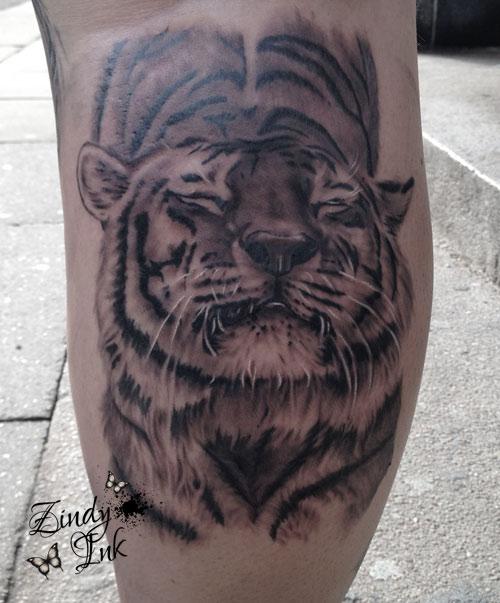 Tiger Feline Tattoo