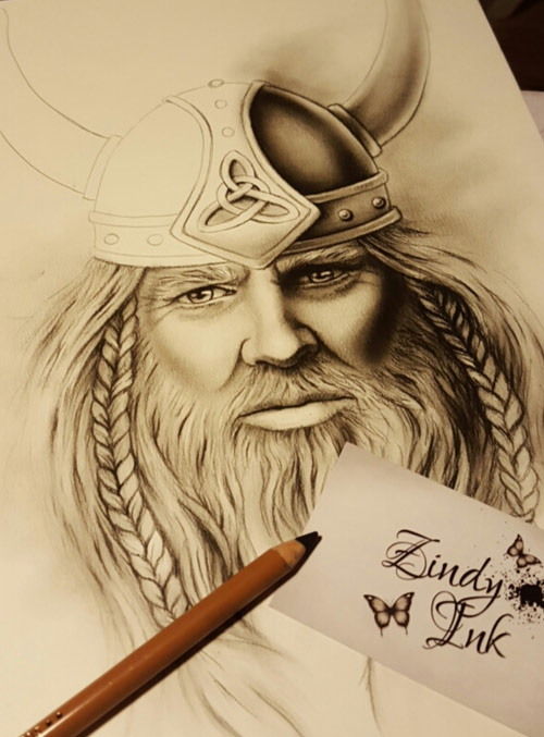 Viking Tatto Design